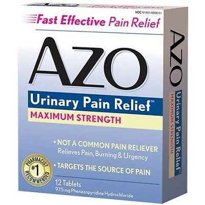 Azo Standard Tablet Max Strength 12ct