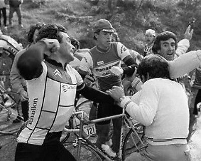 Bernard Hinault Tour de France  Cycling Legend Punch 10x8 Photo