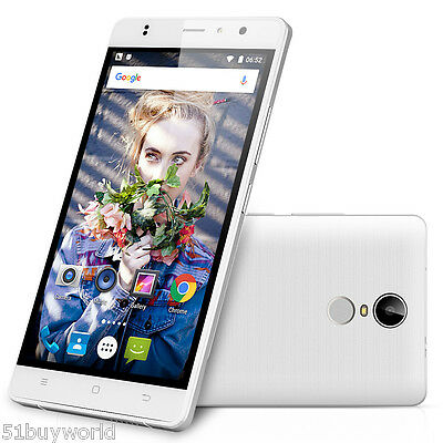 """Téléphone 16Go 5,5"""" TIMMY M20 Pro 4G LTE Smartphone Android6.0 QuadCore Touch ID"""