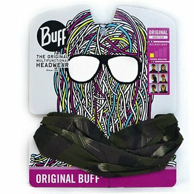 Buff Wild Style Original Mutifunctional Microfiber Headwear , Black