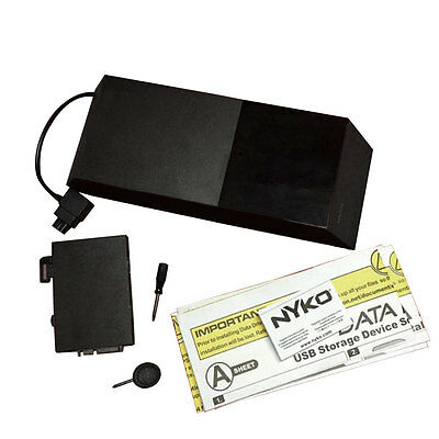 "Nyko Data Bank 3.5"" Hard Drive Enclosure For Playstation 4 PS4 Gaming Console"