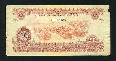 Vietnam banknote 50 dong Pick R8 ND 1963