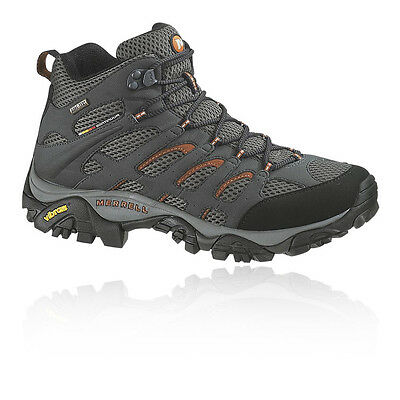 Merrell Moab Mid Mujer Gris Gore Tex Impermeable Excursionismo Botas Zapatos