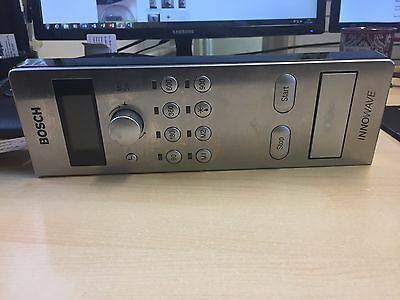 Bosch HMT8656GB/02 microwave complete PCB with lever