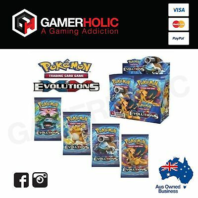 Pokemon XY Evolution Booster Box - Free Shipping - Brand New - In STOCK