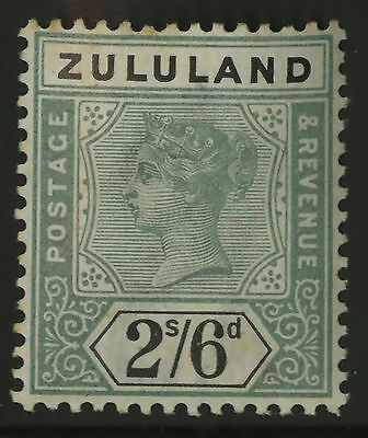 Zululand   1894-96    Scott #21   Mint Very Lightly Hinged Condition
