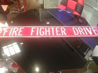Ande Rooney 10908011 Fire Fighter Drive Embossed St Sign