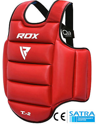 RDX Authentic Professional Advance Chest Body Protector Guard MMA Armour US