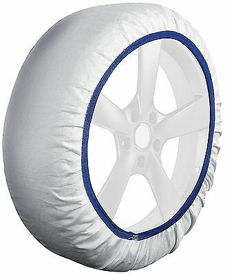 Husky Textile System Car Winter Wheel Tyre Ice, Frost & Snow Chain Socks -Medium