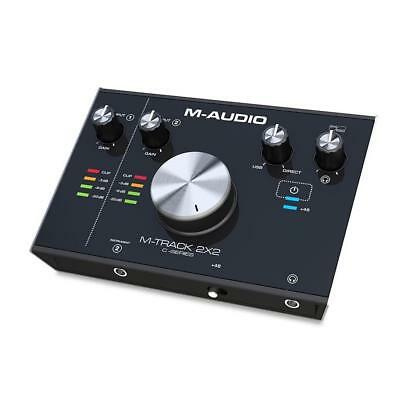 M-Audio M-Track 2X2 | 24-Bit/192 kHz USB Audiointerface | NEU