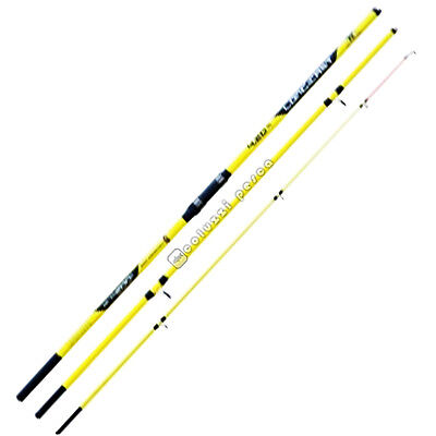 Canna Lineaeffe Long Cast 4.20 M 200 G New 2017 Surfcasting Pesca 3 Pezzi Carbon