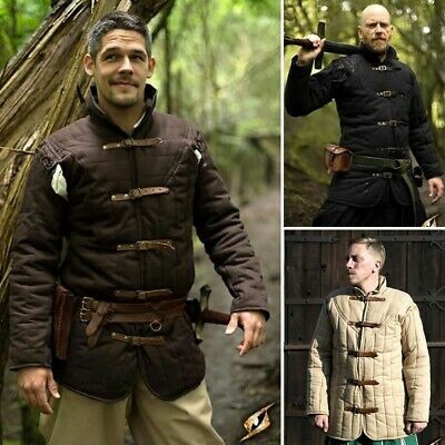 Warrior Gambeson, Ideal For Re-enactment, Stage, Combat, Costume and LARP
