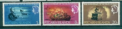 BATEAUX - SHIPS PITCAIRN 1967 150th Death of Cpt Bligh