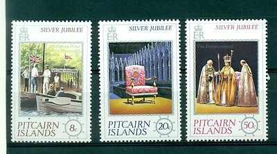 PERSONNAGES - SILVER JUBILEE Queen Elizabeth II PITCAIRN 1977