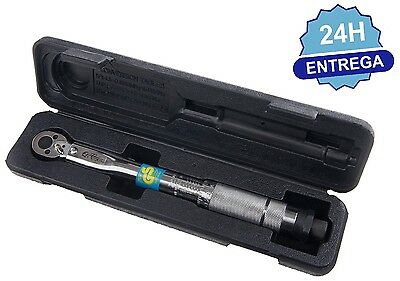 "LLAVE DINAMOMETRICA 1/4"" DE 2-24 NM  -  1/4"" Torque Wrench 5 - 25nm - 840151"