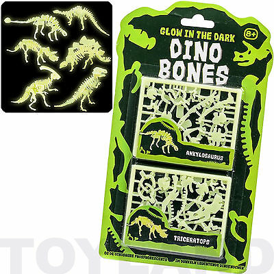 Glow In The Dark Dinosaur Bones Boys Toy Model Xmas Christmas Stocking Filler