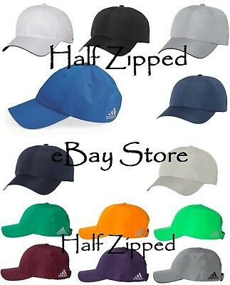 Adidas Performance Relaxed Poly Cap A605 Golf Baseball Hat Unstructured