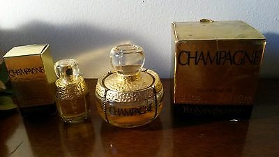 YSL Champagne Perfume EDT 7.5ML NEW AND USED 50ML PERFUME *NEARLY 15ML LEFT*