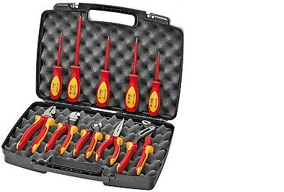 Knipex 989830US 10 -Piece Insulated Industrial Tool Set