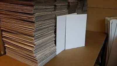 A3 x 100 Cardboard sheets BROWN single wall 297mm X 420 for pads and art craft