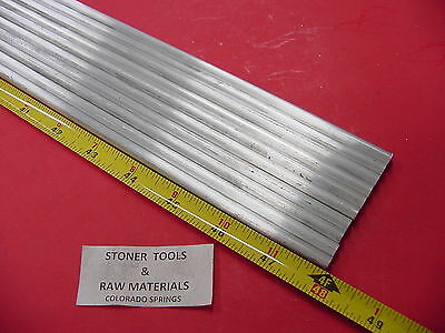 """10 pieces 1/4"""" ALUMINUM 6061 ROUND ROD 48"""" long T6511 Solid .25"""" Lathe Stock 40'"""