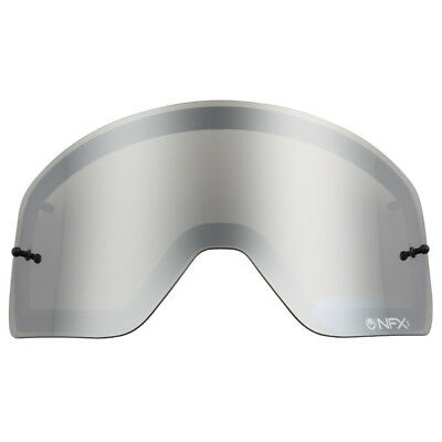 Dragon NEW Mx NFXS Motocross Goggles Silver Tinted Ionized Grey Replacement Lens