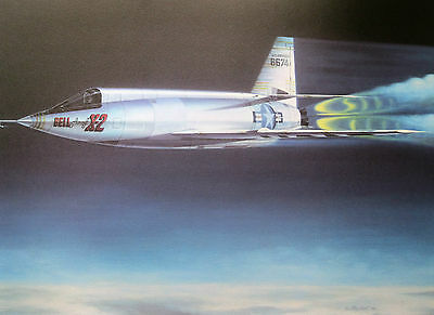 """""""Fastest Man Alive"""" - 1956, Mach 2.87- A/P Signed by Pilot Frank 'Pete' Everest"""