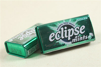 Eclipse Sugarfree Spearmint 1.2 Ounce Tins (Pack of 8) Fresh Breathe