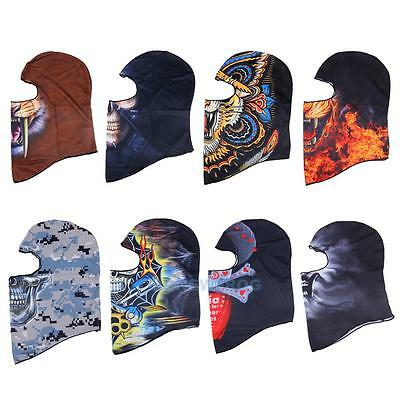 Motorcycle Cycling Ski Snow Neck Warmer Full Face Mask Hat Cap Balaclava Snood