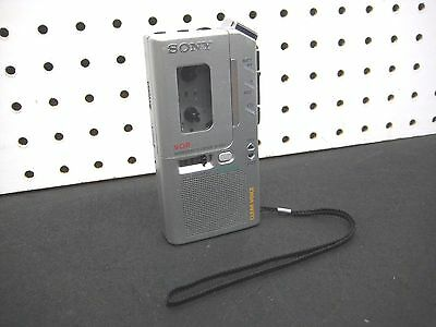 SONY M-830V Voice Recorder Dictaphone V-O-R Microcassette-Corder