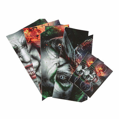 Joker Vinly Skin Sticker for Sony PS4 PlayStation 4 and 2 Controller Skins BY