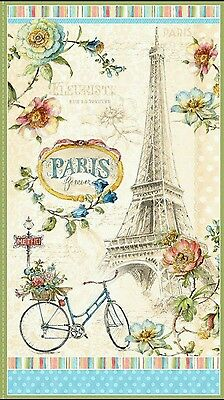 Paris Forever  Quilt Panel...*new*....in Stock....free Post...