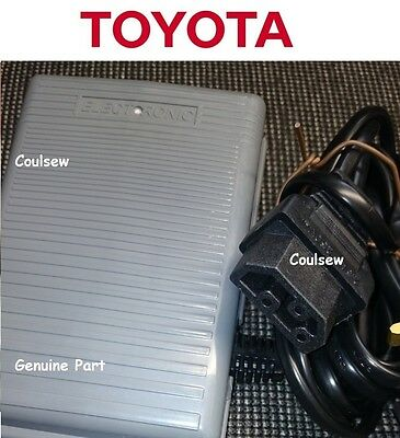 TOYOTA SEWING MACHINE FOOT CONTROL PEDAL POWER LEAD Some RS2000,SP etc New Type4