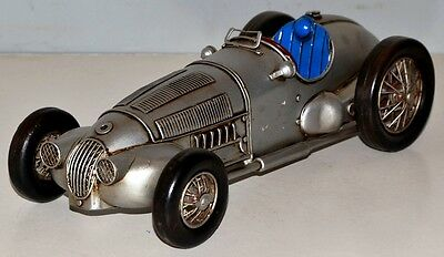 Car MB Race car Tin car Vintage Metal Model Tin Model Car 30 cm 37854