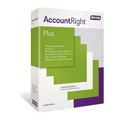 MYOB AccountRight Plus Professional Accounting Software PC Desktop License ESD