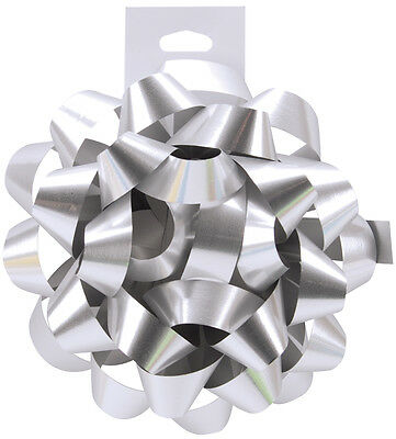 """Carnival Bow 4.5"""" Silver 601BOW-17"""