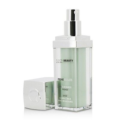 NEW Fusion Beauty Prime Results Anti Redness Primer (Unboxed) 30ml Womens Makeup
