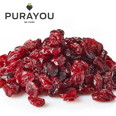 Dried Cranberries 125g, 250g, 500g, 1kg - A1 Quality -  Free UK Shipping