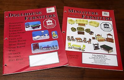 Town Square Dollhouse Furniture Miniatures 2 Catalogs #21 #24 Aztec Imports