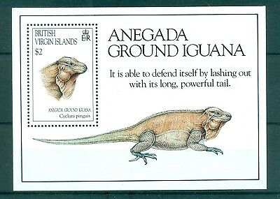 REPTILES - IGUANA VIRGIN ISLANDS 1994 block