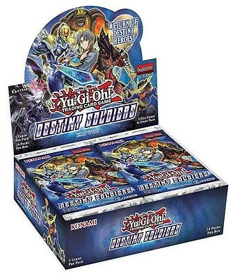 YuGiOh Destiny Soldiers Booster Box Sealed Booster Box Brand New IN STOCK