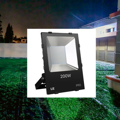 200W Super Bright Outdoor LED Flood Light Security Lights 22000lm Daylight White
