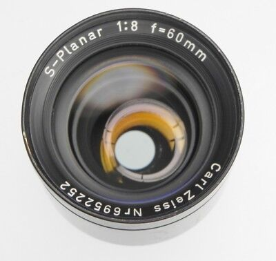 Carl Zeiss 60mm f8 S-Planar  #6952252  .......... Very Rare !!