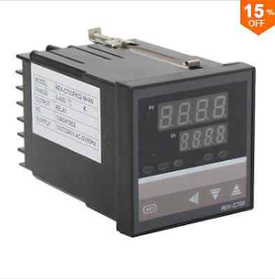 REX-C700 Temperature Controller K Type Range 0-400 Degree AC100-240V