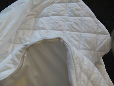 Mattress Protector fully fitted , Bamboo fill , 100% cotton cover , quilted