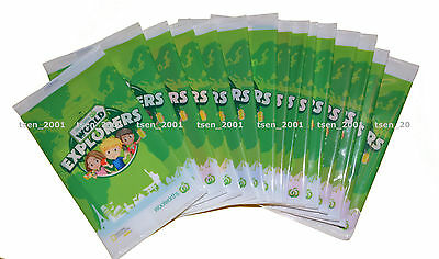 Woolworths World Explorers Cards 50 New Unopened Packs
