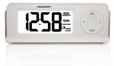 Blaupunkt CR11 Edition Radio alarm clock Time Dual white with USB charge