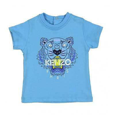 Kenzo Baby Blue Tiger Top T-Shirt 12 Months