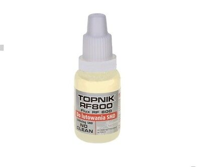 Liquid soldering flux for SMD components no clean, rosin based 15 ml