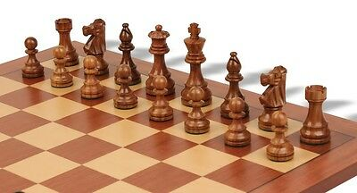 "The French Lardy Tournament Staunton Chess Pieces Set with 95mm (3.75"") King ..."
